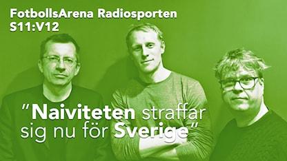 Richard Henriksson med Jens Littorin och Magnus Svenungsson.