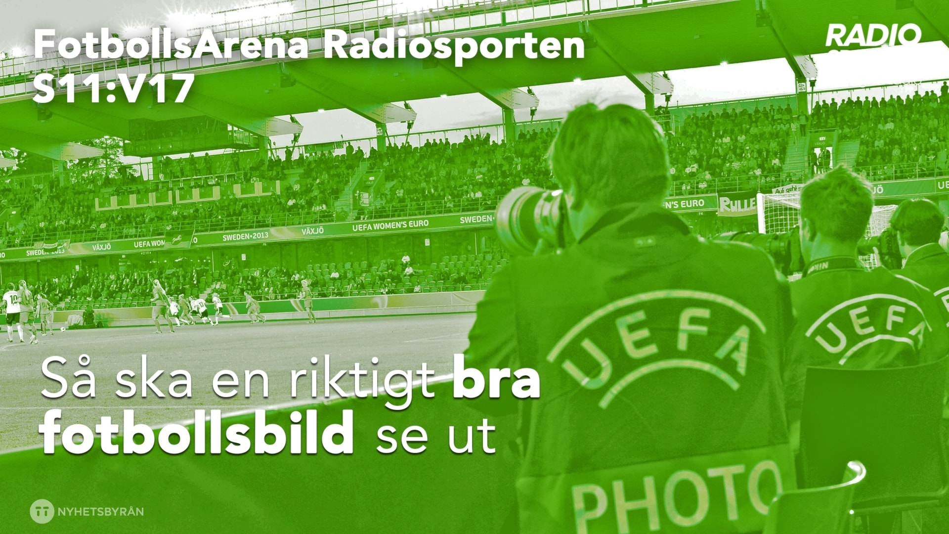 Fotbollsfotografen i fokus