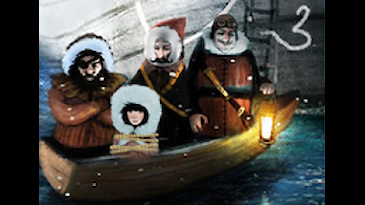 DEL 3: Siri och ishavspiraterna, Julkalendern 2012 illustration: Alexander Janson