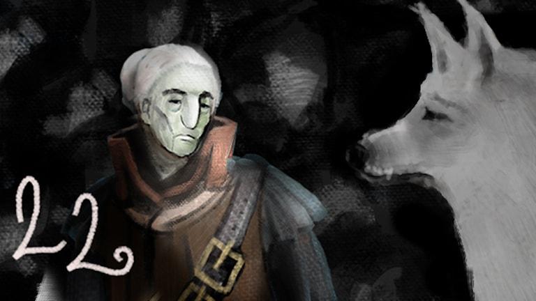 DEL 22: Siri och ishavspiraterna, Julkalendern 2012 illustration: Alexander Janson