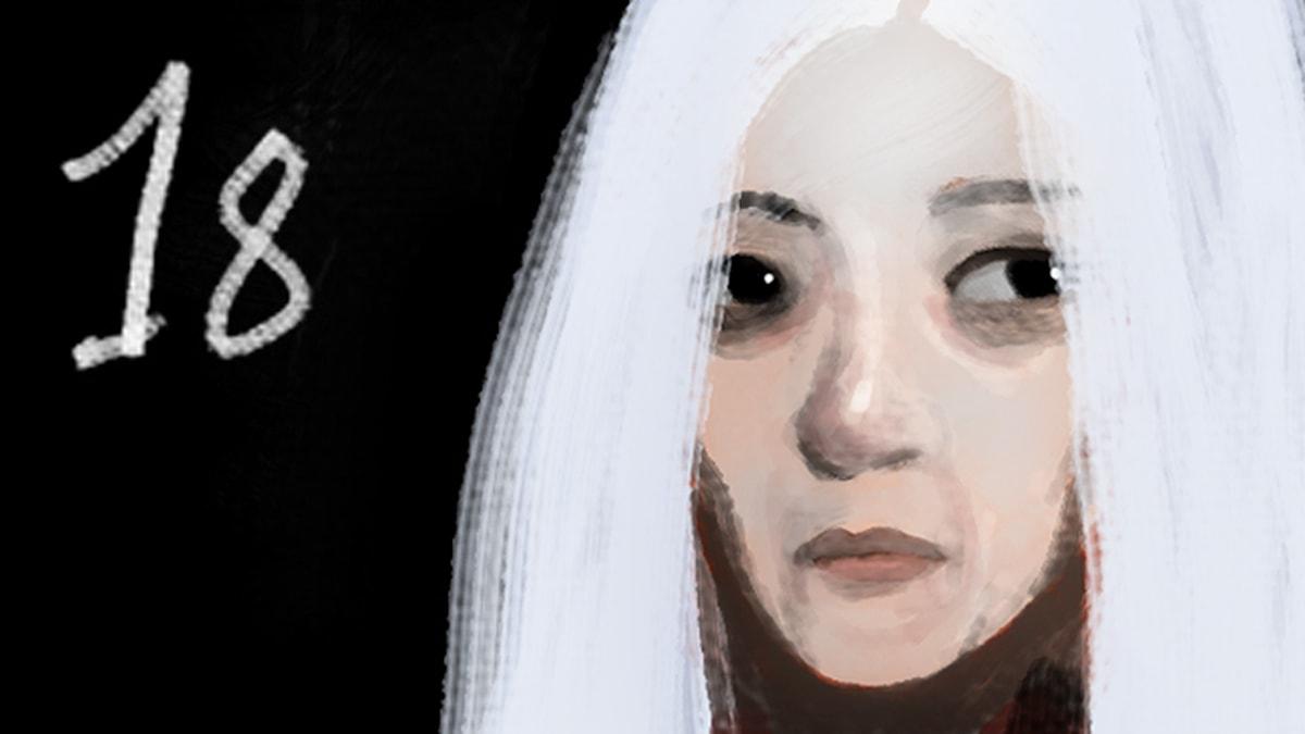 DEL 18: Siri och ishavspiraterna, Julkalendern 2012 illustration: Alexander Janson