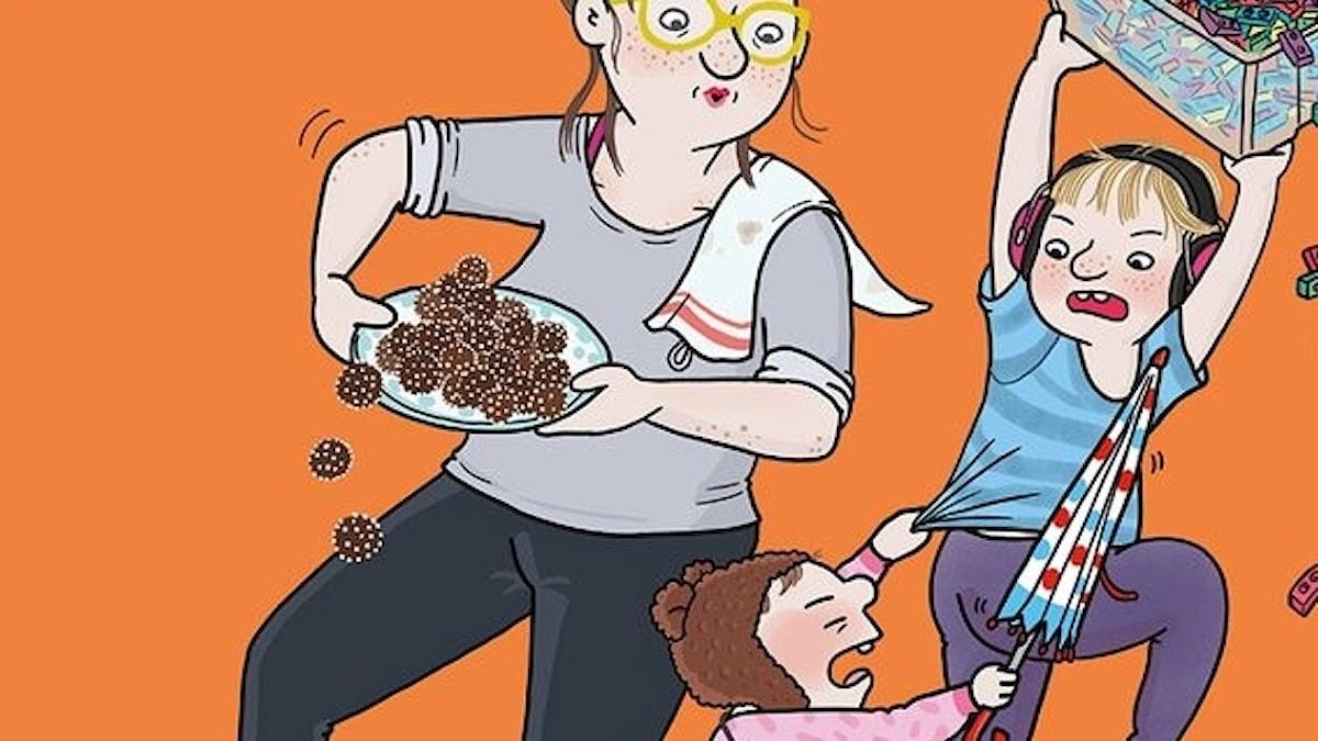 Syskonbråk låter kanske inte så kul som ämne för en bok men när barnboksförfattaren Carlotta Lannebo och tecknaren Ellen Ekman berättar
