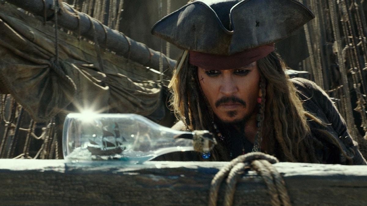 Johnny Depp i Pirates of the Caribbean: Salazars revenge.