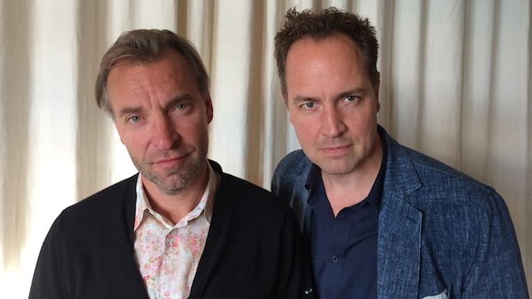 Måns Mårlind och Björn Stein. Foto: Björn Jansson/Sveriges Radio.