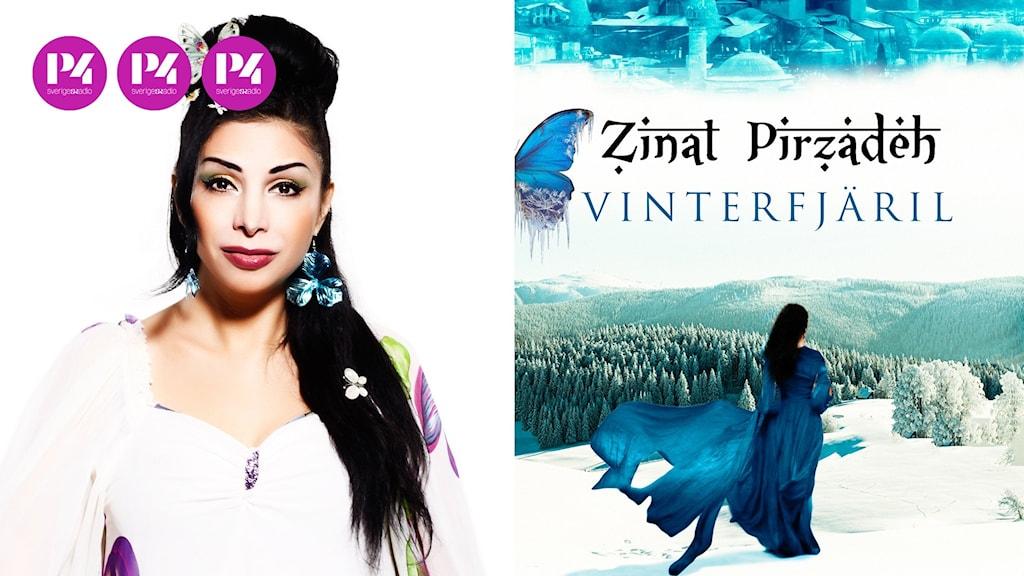 """Zinat Pirzadeh och hennes bok """"Vinterfjäril"""""""