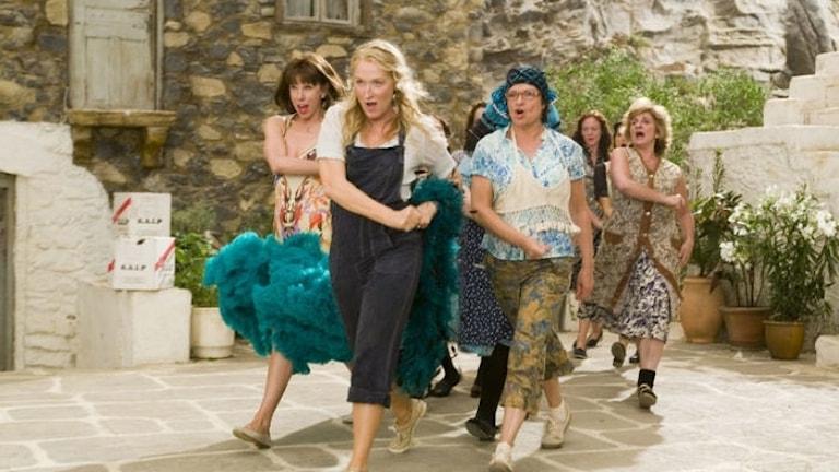 """Ur filmen """"Mamma Mia""""."""