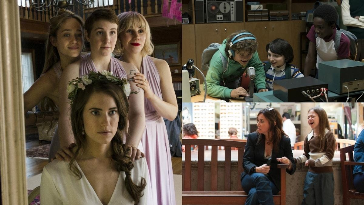 De tre bästa serierna i år: Girls, Stranger Things och Better Things
