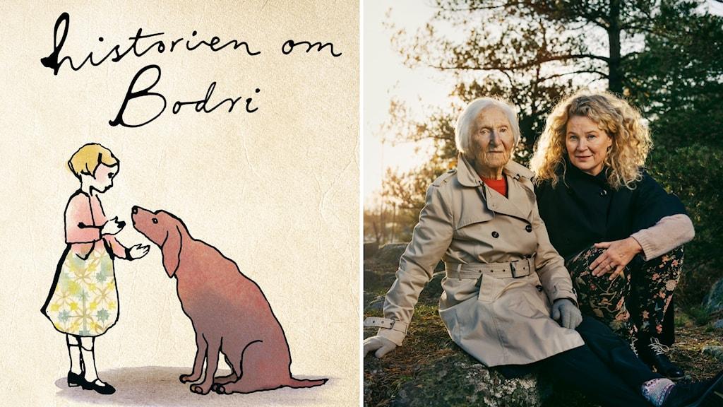 """""""Historien om Bodri"""" av Hédi Fried och Stina Wirsén."""