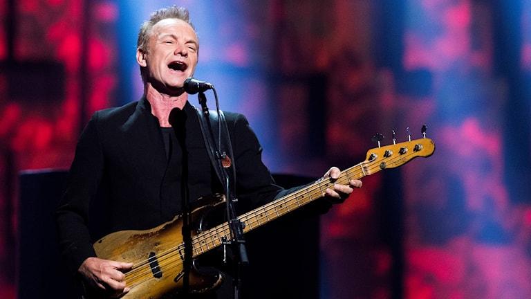 En bild på artisten Sting