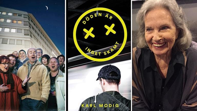 """Pjäsen """"Sång till välfärden"""", ungdomsboken """"Döden är inget skämt"""" och dokumentären """"Gunnel Lindblom - Ut ur tystnaden"""""""