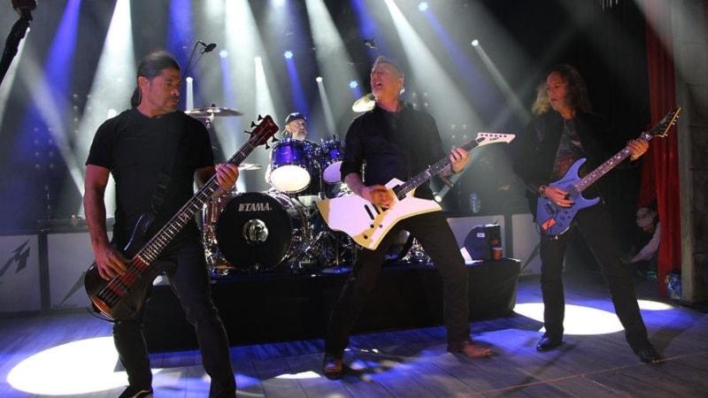 Metallica tulee Ruotsiin!