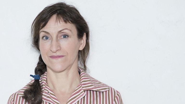 Barnboksförfattaren Pija Lindenbaum.