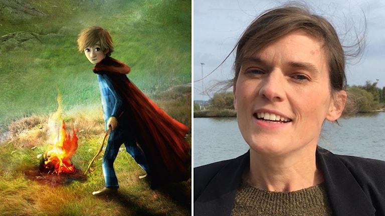 """Frida Nilsson aktuell med boken """"Det tunna svärdet"""""""