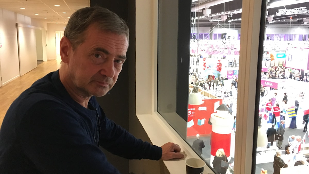 Christer Björkman under Bokmässan