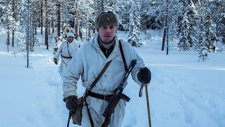 Från filmen Okänd soldat. Foto: SF.