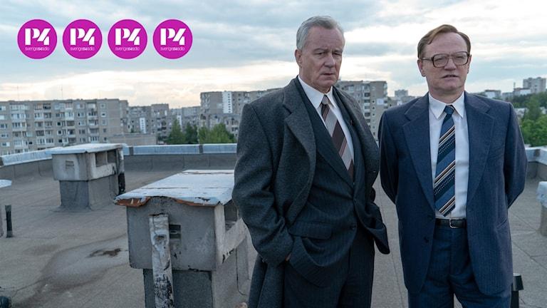 """Stellan Skarsgård som Boris Shcherbina i """"Chernobyl""""."""