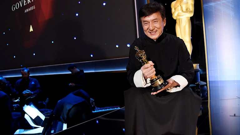 Jackei Chan får heders-Oscar