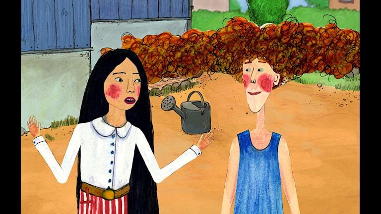 Ur Bajsfilmen av Linda Hambäck, animation av Dockhus Animation. Foto: Lee Film.