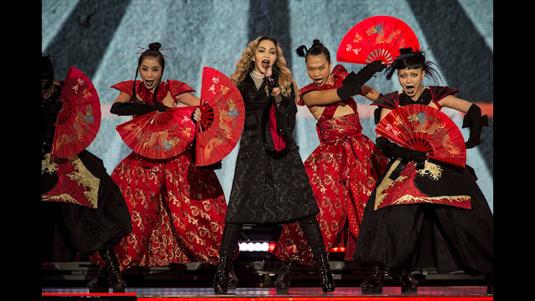 Madonna under sin Rebel Heart Tour i Mexico City