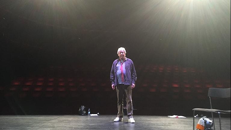 Sven Wollter på Stadsteaterns scen