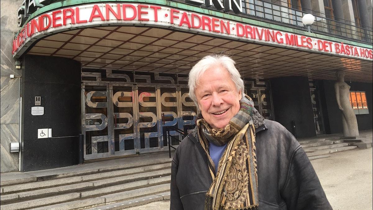 Sven Wollter. Foto: Karin Jansson/Sveriges Radio