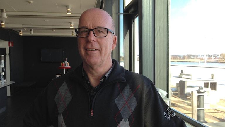 Sven Höper, direktör för välfärd och utbildning och samordnare av insatser om temporära boenden för flyktingar. Foto Erica Hedin