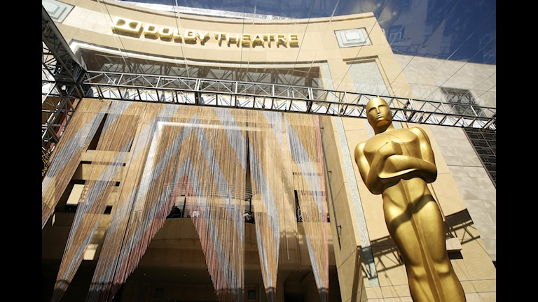 Förberedelserna är i full gång inför Oscarsgalan på söndag.