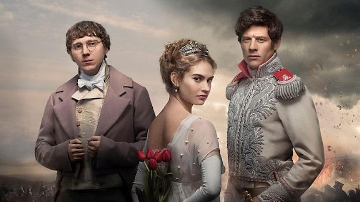 BBC-serien Krig och Fred, baserad på Tolstojs epos har premiär på lördag.