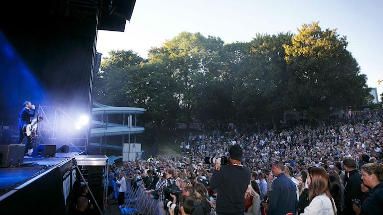 Kent på Norwegian Wood festivalen i Oslo