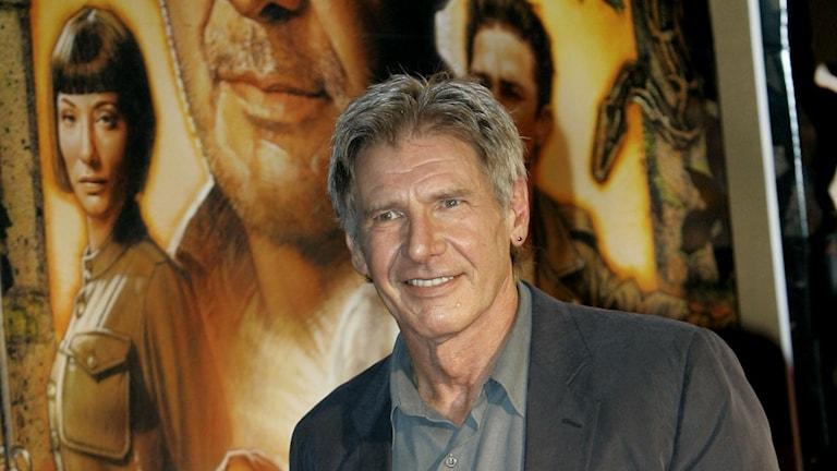 Harrison Ford spelar Indiana Jones. Foto: Shizuo Kambayashi/Scanpix.
