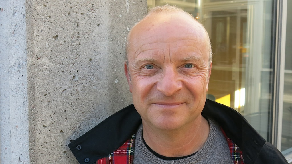 """Jonas Gardell aktuell med showen """"30 år tillsammans"""". Foto: Björn Jansson/Sveriges Radio."""