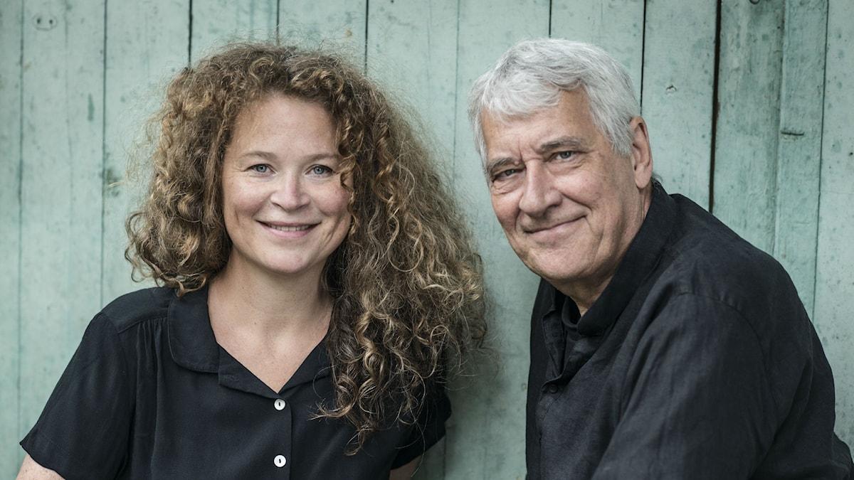 Barnboksförfattarna Stina Wirsén och Ulf Nilsson