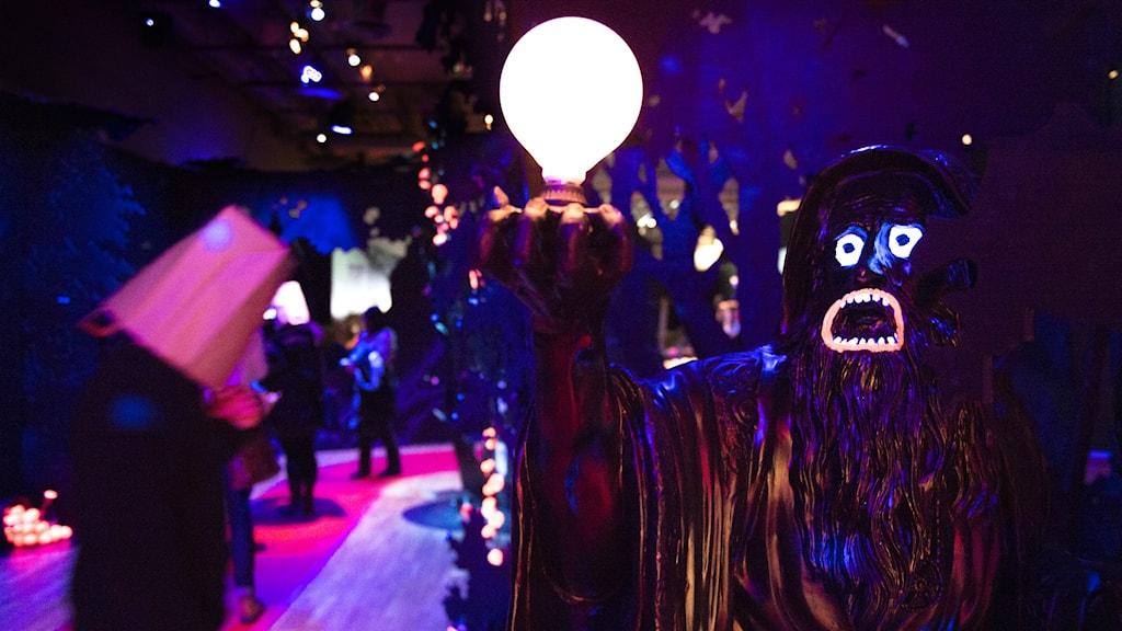 Makode Lindes utställning 'Makode Linde' på Kulturhuset i Stockholm.