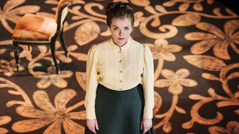 "Marika Strand i Alfhild Agrells pjäs ""Ensam"" Foto: Ola Kjelbye."