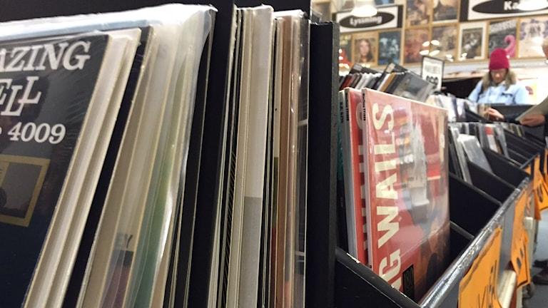 Vinylförsäljningen har ökat med 54 %.