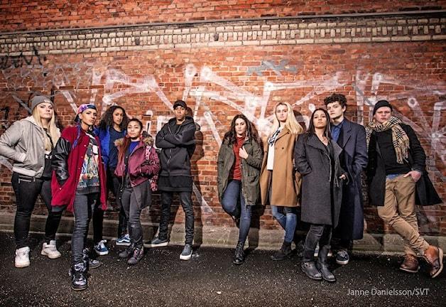 Skådespelarna i nya tv-serien Hashtag
