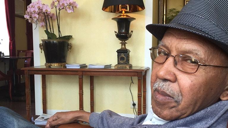 Somaliske författaren Nuruddin Farah.