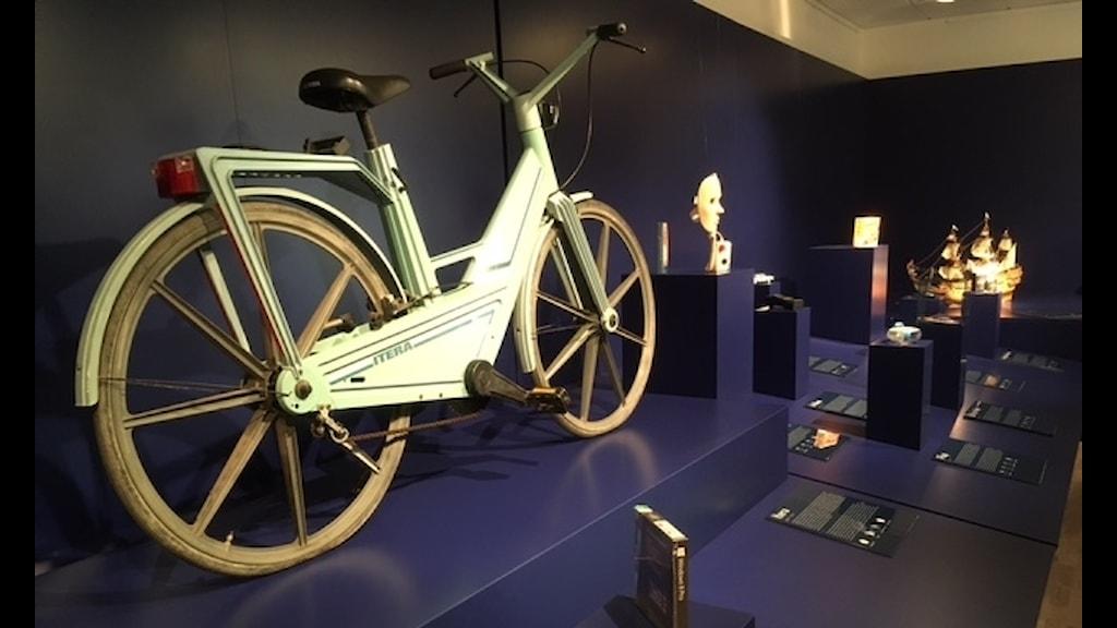 Den svenska plastcykeln Itera på Museum of Failure.