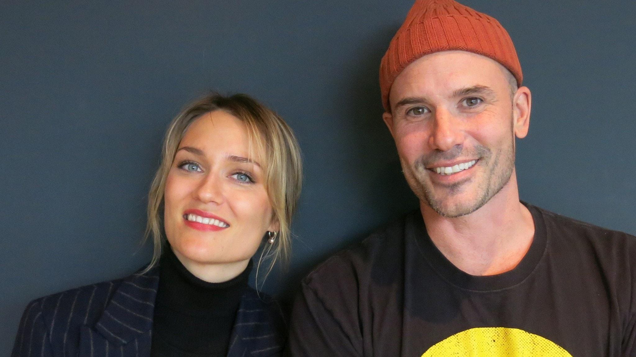 """Disa Östrand och Martin Stenmarck gör Johanna och Danne i """"Lyckoviken""""."""