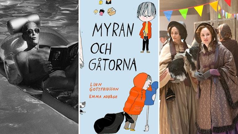 """Dokumentären """"Citizen Schein"""", barnboken """"Myran och gåtorna"""" och tv-serien """"I Dickens magiska värld"""""""