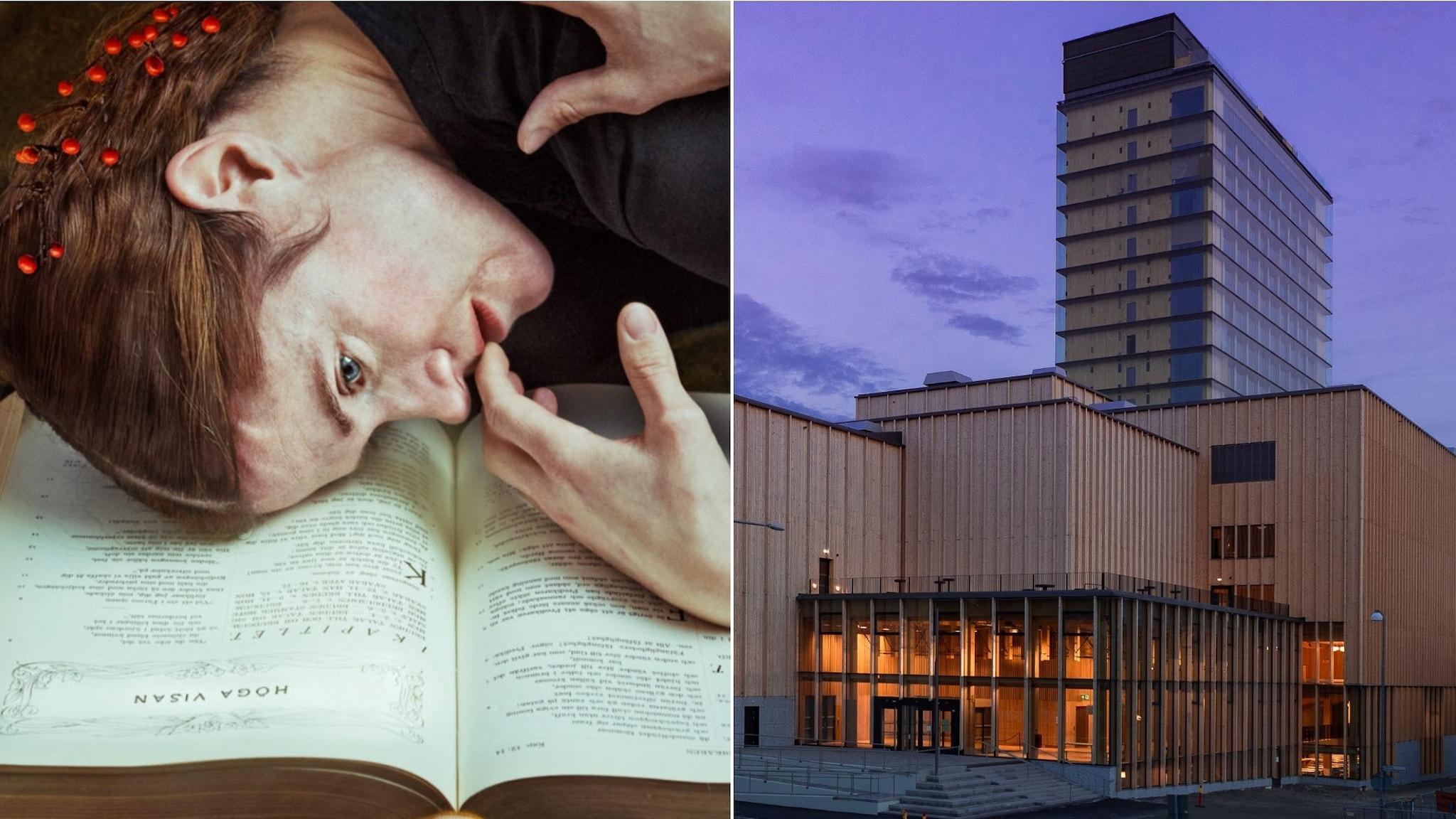 Föreställningen Lifsens rot bygger på Sara Lidmans roman med samma namn och den inviger kulturhuset Sara i Skellefteå.