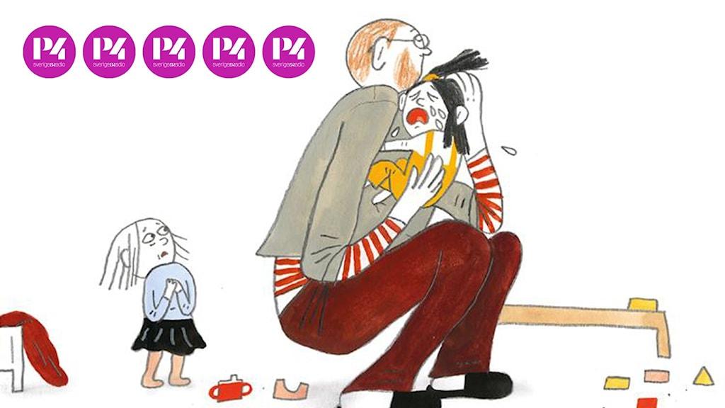 """""""Ledsen"""" av Lotta Olsson och Emma Adbåge"""