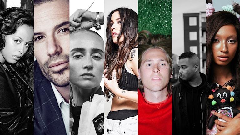 Artister i Musikhjälpen 2016