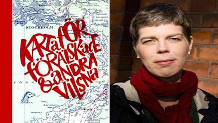 """""""Karta för förälskade & andra vilsna"""" av författaren Johanna Lindbäck."""