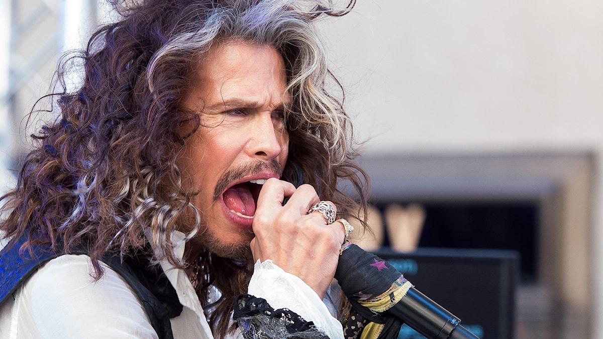 Steven Tyler, sångare i Aerosmith