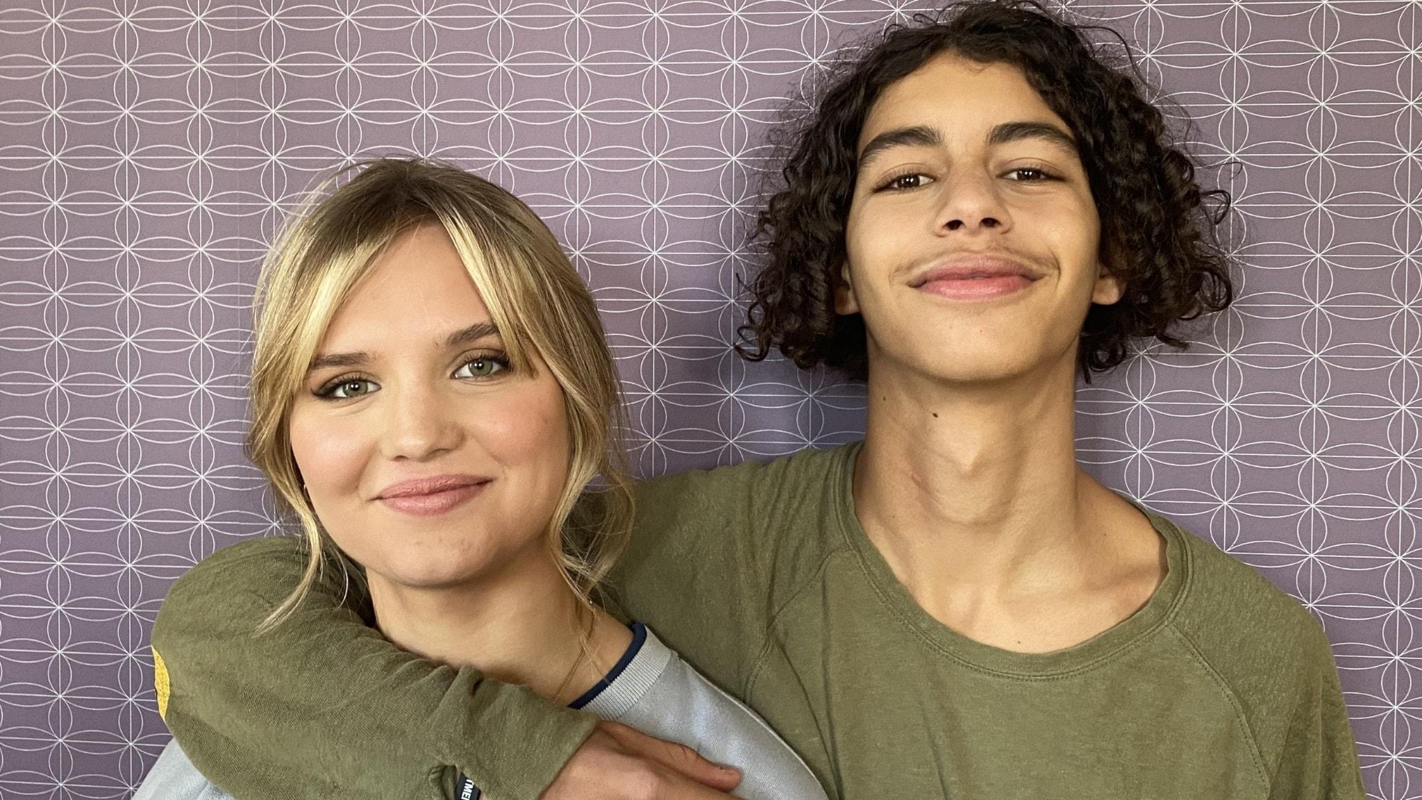 Elsa Öhrn och Mustapha Aarab gör huvudrollerna i nya Vinterviken.