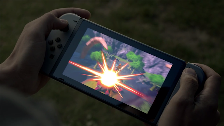 Nintendos nya spelkonsol - Switch.