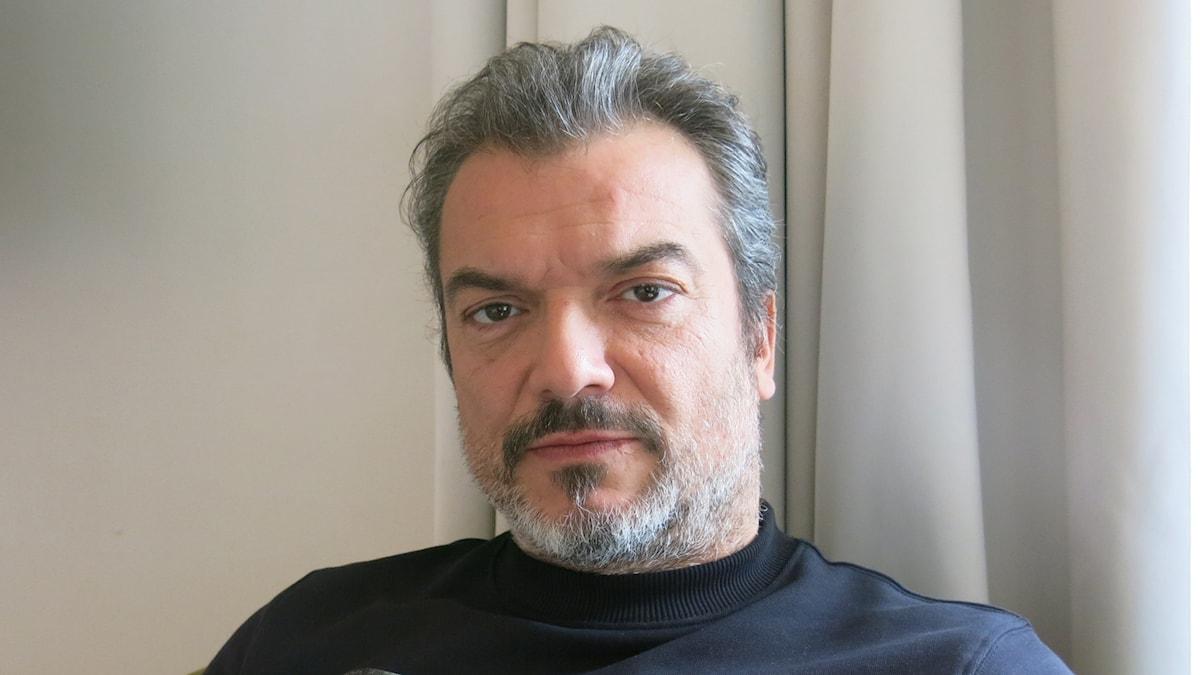 Dragomir Mrsic, aktuell i TV-serien Alex. Foto: Björn Jansson/Sveriges Radio.