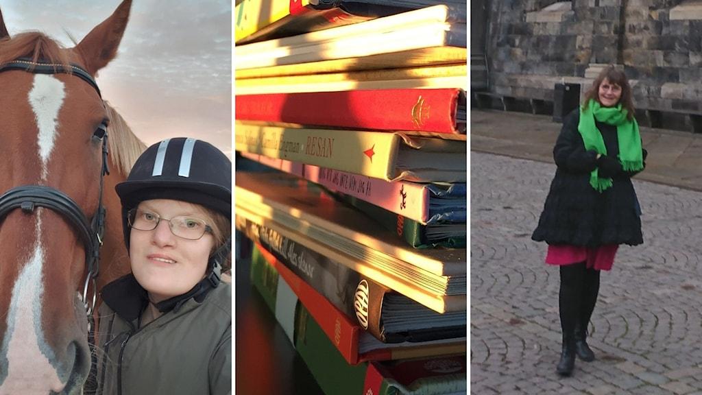 Gunnel Forsberg och Rosemarie Skagerberg.