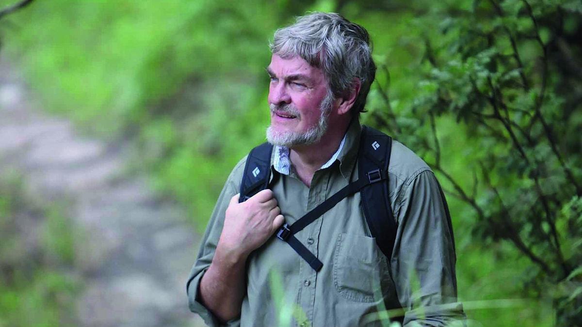 Författaren Lasse Berg.